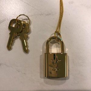 Louis Vuitton LV Keypad Lock Necklace